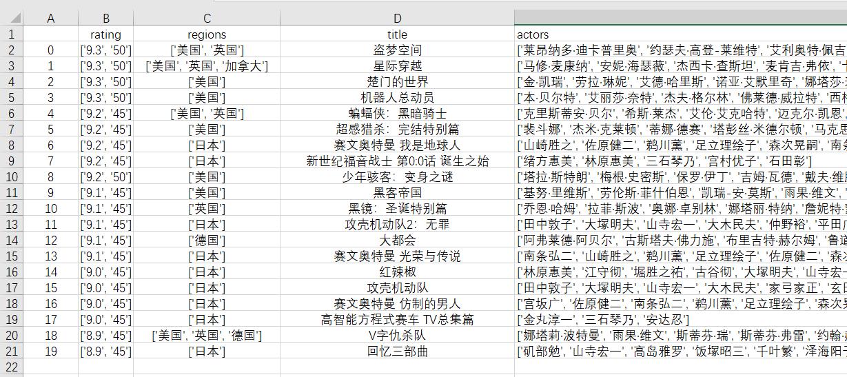 爬虫实例——爬取豆瓣电影的分类排行榜-简生笔记